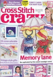 As featured in Cross Stitch Crazy magazine issue 198 on sale January 2015