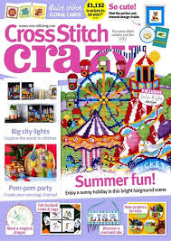 As featured in Cross stitch Crazy magazine issue 257 on sale June/July 2019
