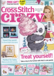As featured in Cross Stitch Crazy magazine issue 202 on sale May 2015