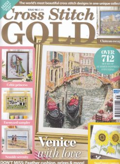 As featured in Cross stitch Gold magazine issue 156 on sale June/July 2019