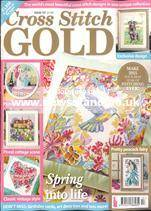 As featured in Cross Stitch Gold magazine issue 117 on sale January 2015