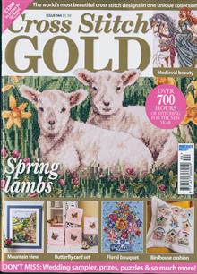 As featured in Cross stitch Gold magazine issue 144 on sale January/February