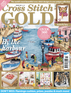As featured in Cross Stitch Gold magazine issue 147 on sale May/June 2018