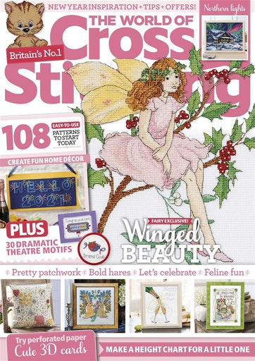 As featured in The World of Cross stitch magazine issue 302 on sale Dec 2020