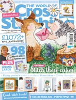 As featured in World of Cross stitching magazine issue 140 on sale March 2016
