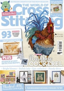 As featured in The World of Cross stitch magazine issue 304 on sale Jan/Feb 2021