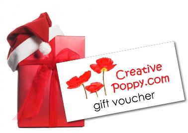 Creative Poppy Gift vouchers