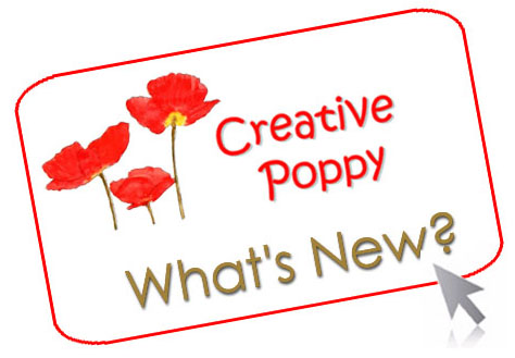 Creative Poppy news: all about new patterns, tips and ideas for cross stitching.