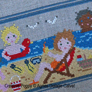 Stories Told in Stitches cross stitch patterns designed by <b>Agnès Delage-Calvet</b>