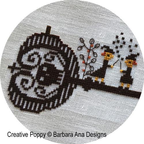 Barbara Ana Designs - 2020 Halloween SAL - Spellville