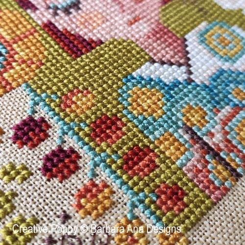 Garden of Dreams cross stitch pattern by Barbara Ana Designs, zoom 1