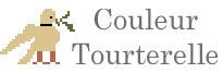 Couleur Tourterelle - Reproduction samplers Cross stitch pattern logo