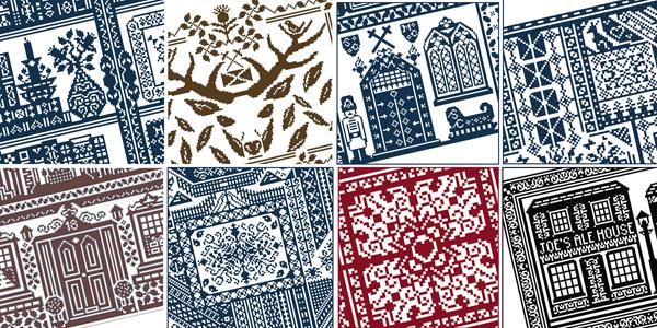 Galliana cross stitch patterns