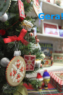 Kyoko Maruoka's little Christmas shop