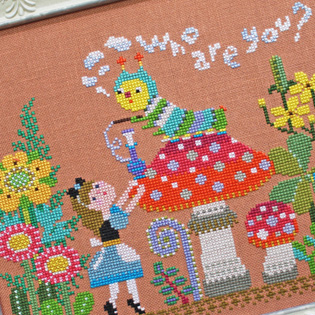 Fairytales cross stitch patterns designed by <b>GERA! by Kyoko Maruoka</b>