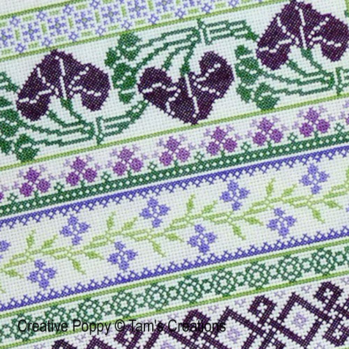 Floral & Ornamental patterns to cross stitch