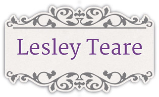 Lesley Teare Designs Cross stitch pattern logo