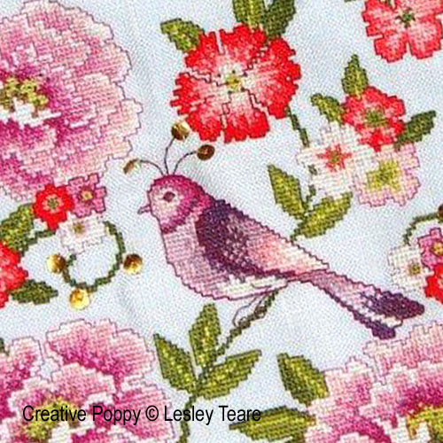 cross stitch patterns designed by <b>Lesley Teare</b>
