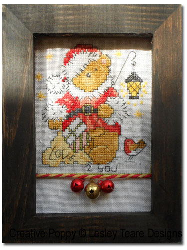Frame for Cute Teddy Christmas mini-motifs - case 1