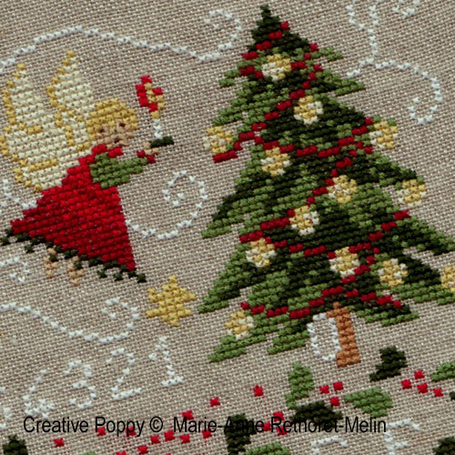 Cross stitch patterns featuring Christmas Trees