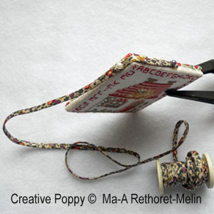 Marie-Anne Rethoret-Melin - Step by step instructions for pinkeep