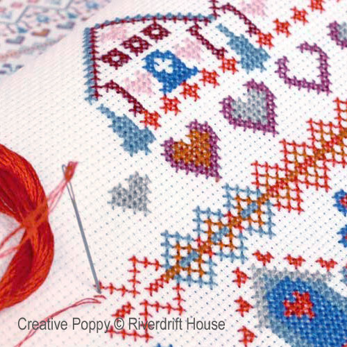 Pure Cross Stitch, pure Joy - Riverdrift House patterns