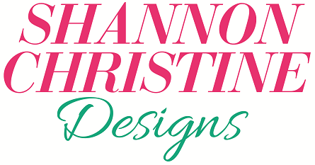 Shannon Christine Designs Cross stitch pattern logo