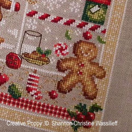 Shannon Christine Designs - Christmas Joy zoom 1 (cross stitch chart)