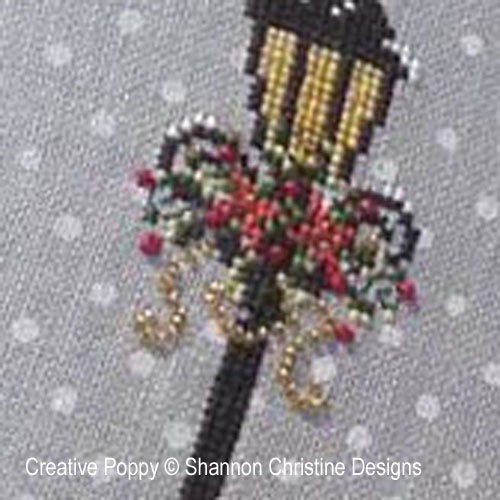 Victorian Lady cross stitch pattern by Shannon Christine Designs, zoom 1