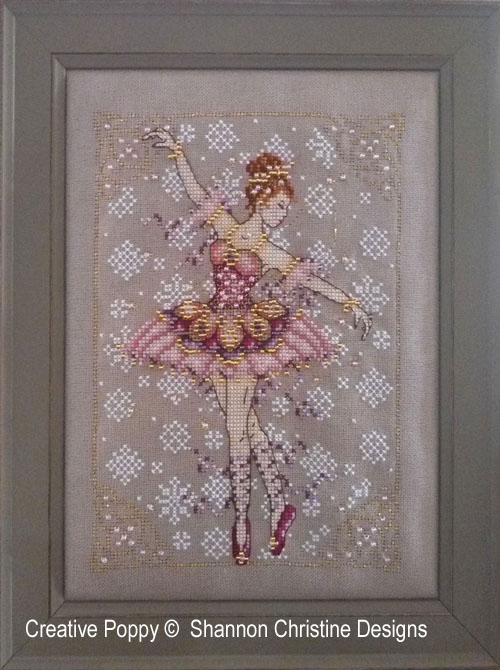 The Sugar Plum fairy cross stitch pattern by Shannon Wasilieff Designs