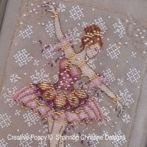 The Sugar Plum fairy cross stitch pattern by Shannon Wasilieff Designs, zoom 1