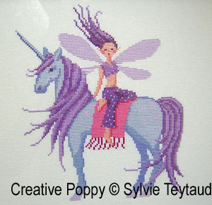 Fairies patterns to cross stitch