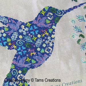 Birds patterns to cross stitch