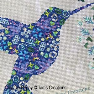 Birds patterns to cross stitch