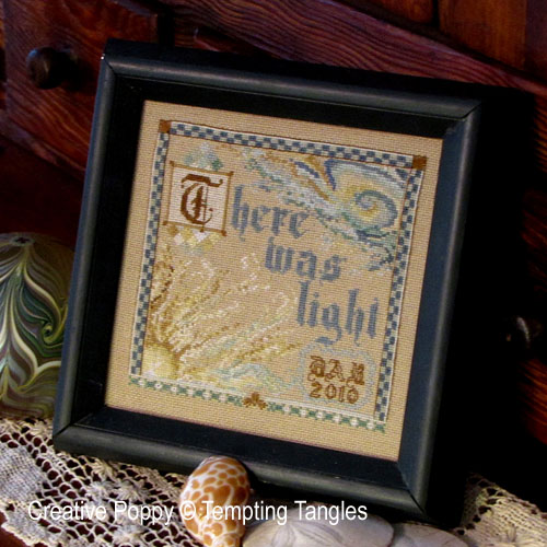 Scripture cross stitch patterns designed by <b>Tempting Tangles</b>