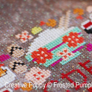 The Cherry Blossom Festival - cross stitch - The Frosted Pumpkin Stitchery