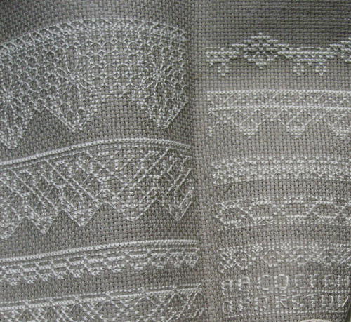 Patterns with Lace effects