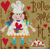 Barbara Ana - Bon appétit, counted cross stitch pattern