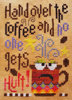 Hadn over the coffee - barbara Ana designs