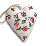 How to make a heart shaped ornament
