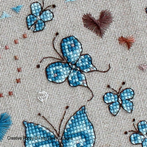 Butterfly patterns designed by Faby Reilly