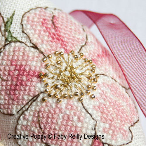 Wild Roses patterns designed by <b>Faby Reilly Designs</b>