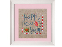 New year cross stitch patterns