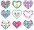 Card and fridge magnet motifs