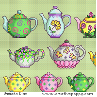 Maria Diaz - Teapot collection