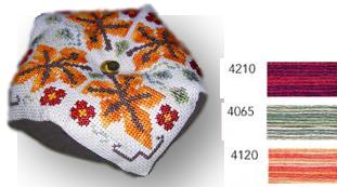 Autumn biscornu series - Tam's creations