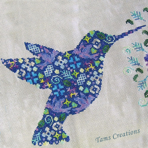 Tam's Creations patches series cross stitch pattern charts