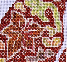 Tam's Creations - Autumn squirrel pattern
