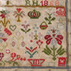 RH 1868 - Sampler of Swiss origin from the Muriel Brunet Collection