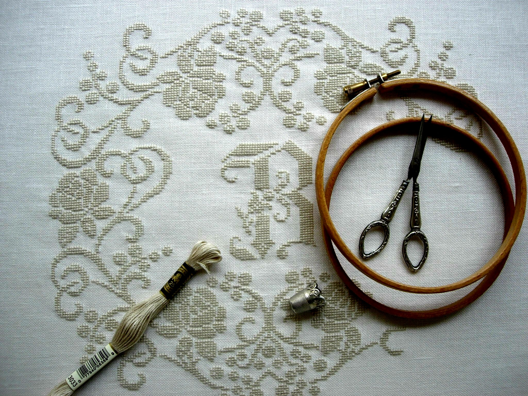 Bathilde - Cross stitch pattern by Lili Soleil